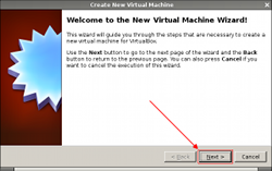 VirtualBox - New VM Wizard