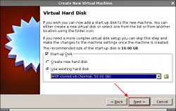 VirtualBox - Hard Disk
